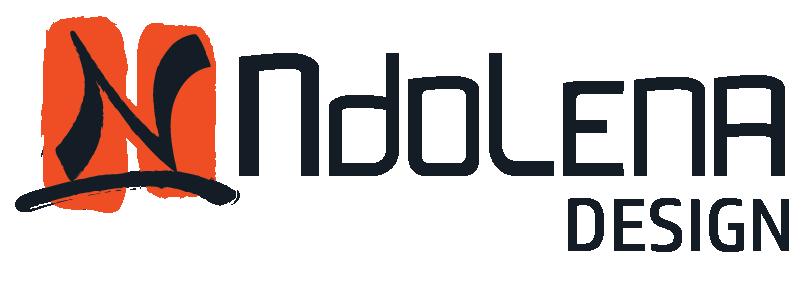 Ndolena Design RDC - logo dark_Graphic Design