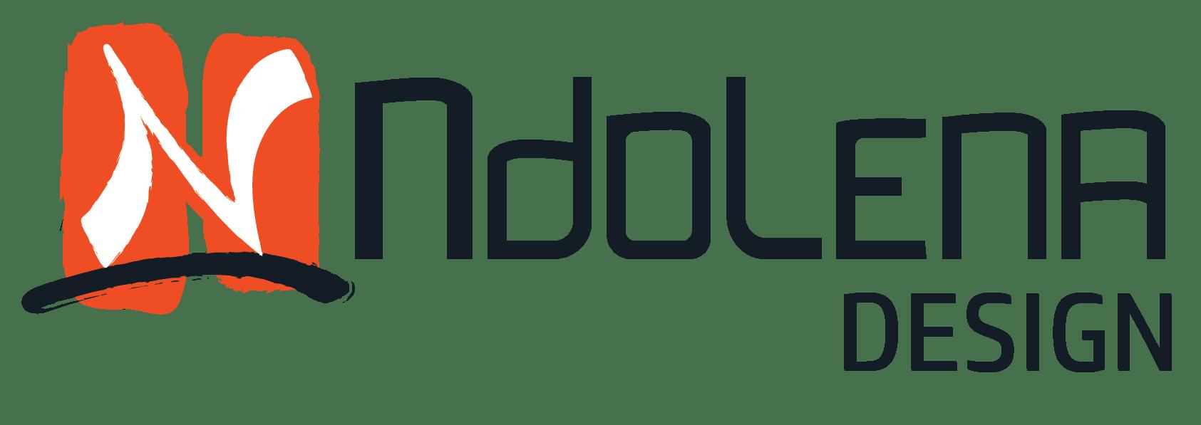 Ndolena Design RDC - logo dark _ sq_Graphic Design
