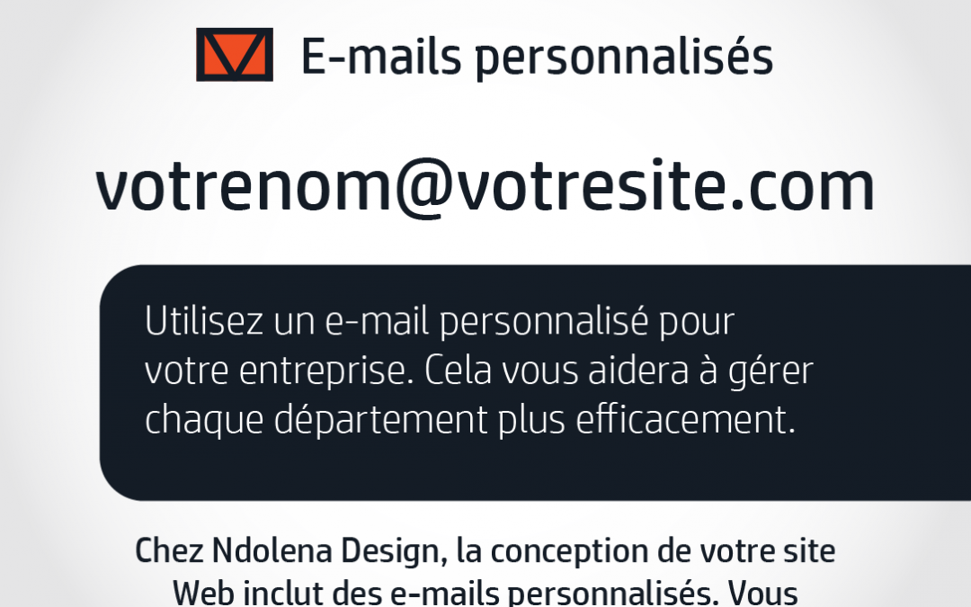 E-mails personnalisés pour votre entreprise