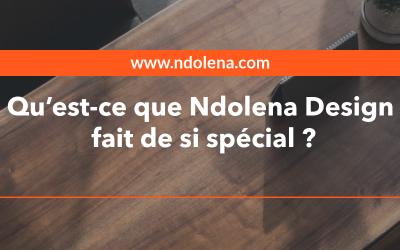Qu'est-ce que Ndolena Design fait de si spécial ?